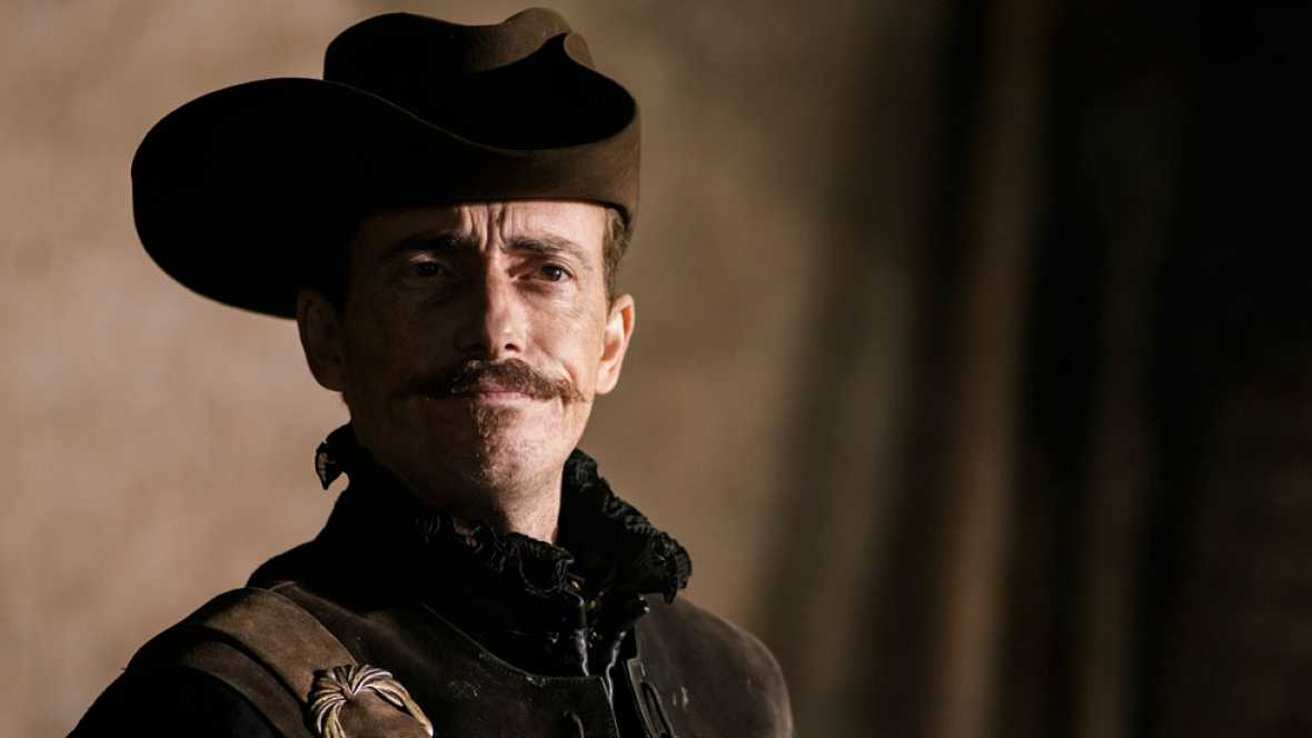Víctor Clavijo como Lope de Vega en 'El Ministerio del Tiempo'