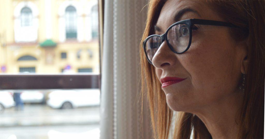 La actriz Mercedes Hoyos.