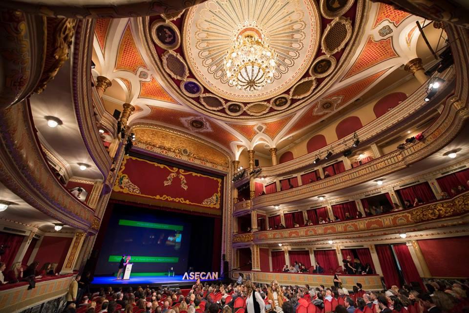 Vista del Teatro Lope de Vega de Sevilla en la entrega de los Premiso ASECAN del Cine Andaluz 2016. Foto: AF Picture