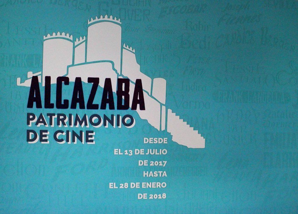 Cartel de la exposición 'Alcazaba. Patrimonio de cine'