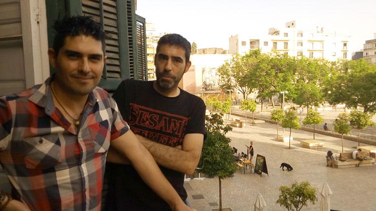 Fali Álvarez y Vladimir Raez