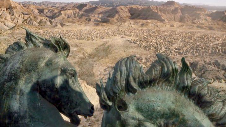 Andalucía en juego de tronos Almeria