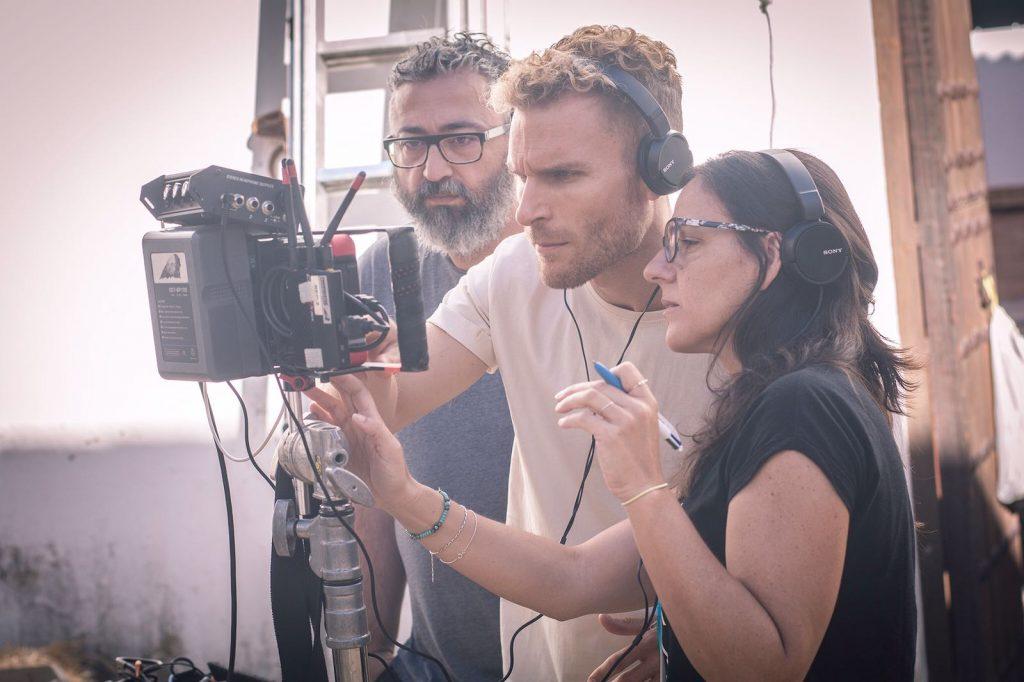 Un momento del rodaje del cortometraje 'El Prenauta'