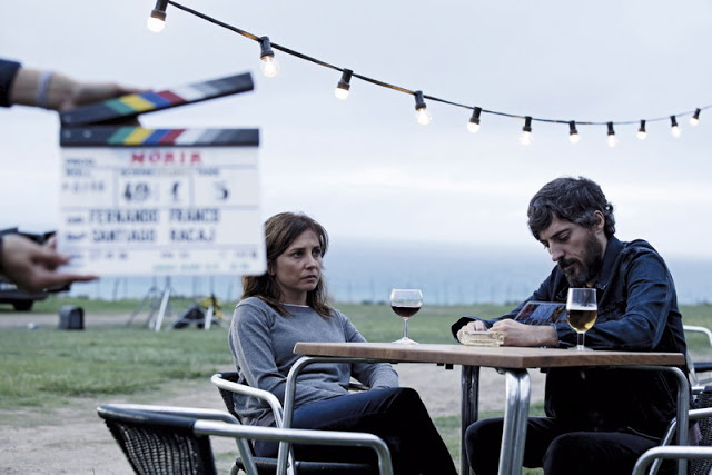 Marian Álvarez y Andrés Gertrúdix en un momento del rodaje de 'Morir'