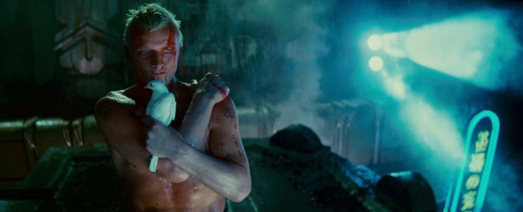 Rutger Hauer en un fotograma de 'Blade Runner'