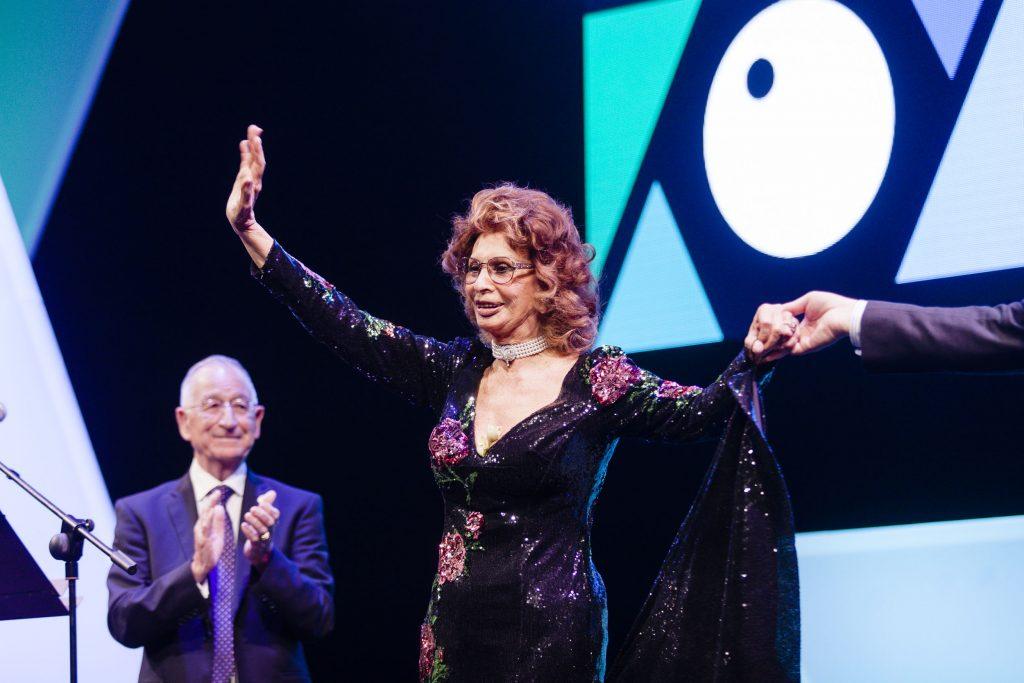 Sophia Loren en la Gala de Clausura del FICAL 2017