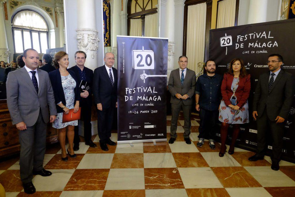Presentación del cartel de la 20ª edición del Festival de Málaga.