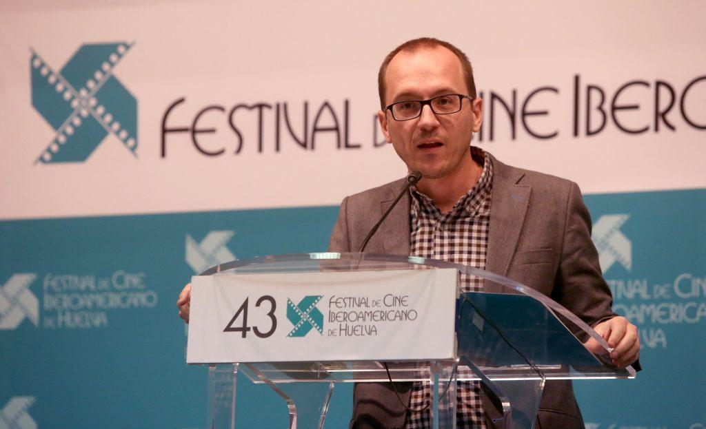 Manuel H. Martín, director del Festival de Cine Iberamericano de Huelva