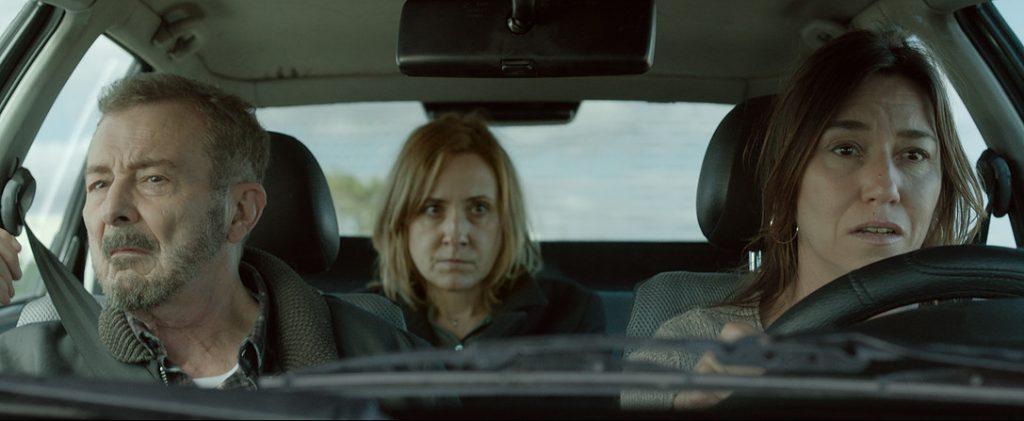 Juan Diego, Nathalie Poza y Lola Dueñas en 'No sé decir adiós'