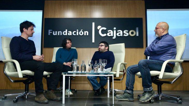Manuel Muñoz Rivas, Mercedes Cantero, Juan Antonio Bermudez y Manuel García Moyano.