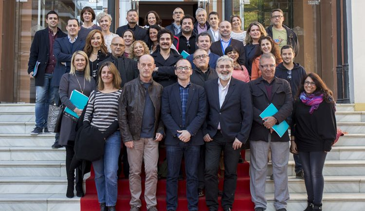 Reunión del sector en el Festival de Cine Iberoamericano de Huelva