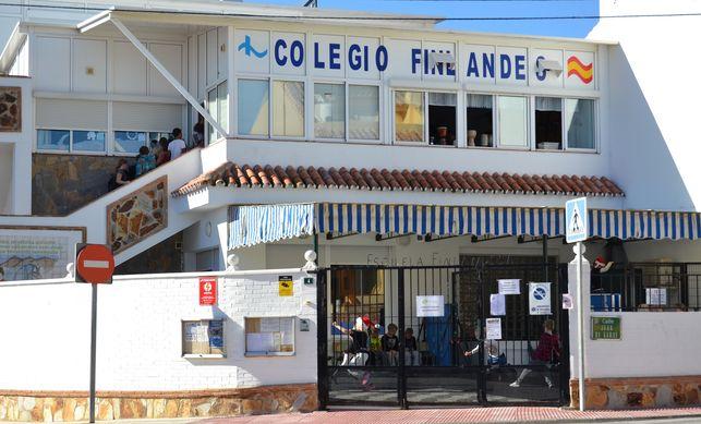 Vista del Colegio Finlandés en Fuengirola