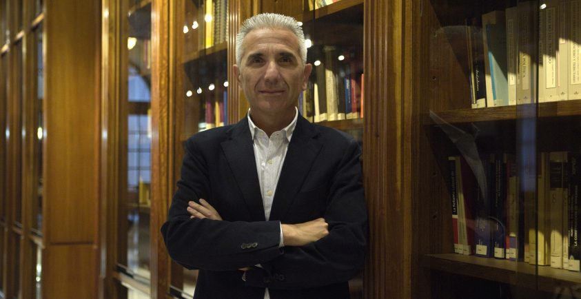 Miguel Ángel Vázquez Berdumez, Consejero de Cultura. Firma: Juan José Barrio