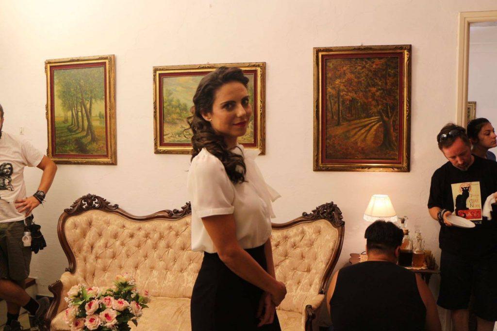 Mar García Ejeda en un trabajo como actriz.