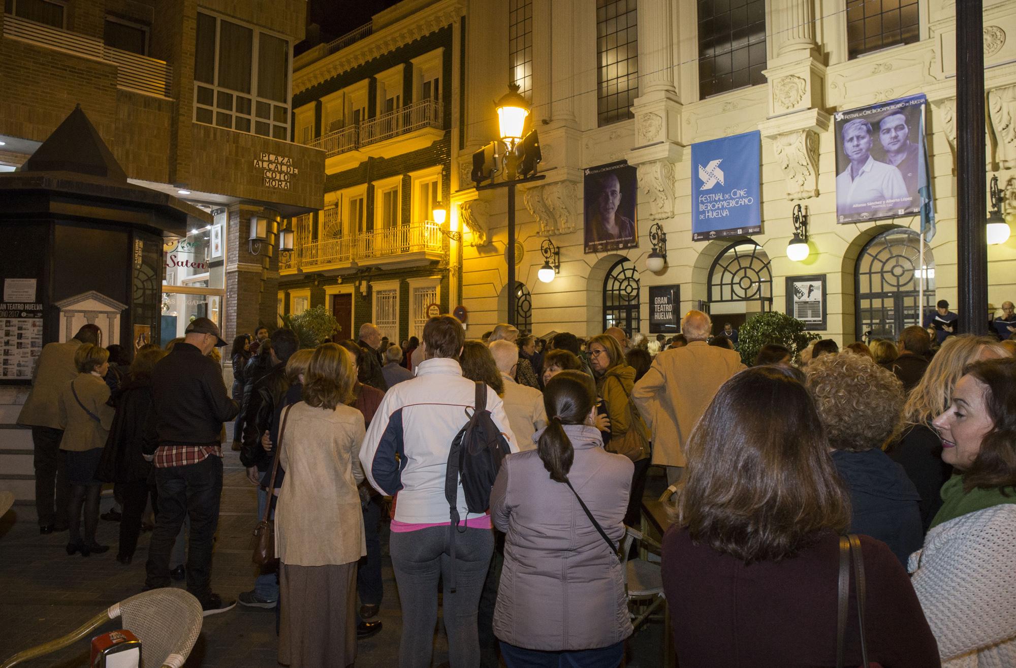 Público del Festival de Cine Iberoamericano de Huelva.