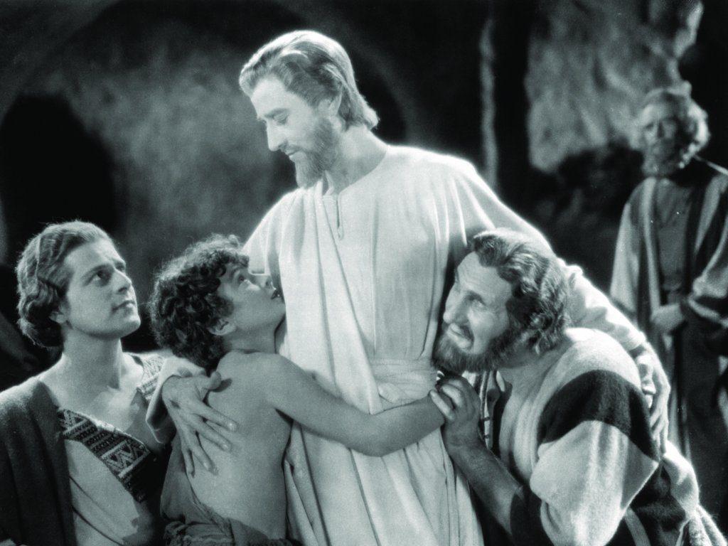 H.B. Warner en 'El rey de reyes' (Cecil B. de Mille, 1927)