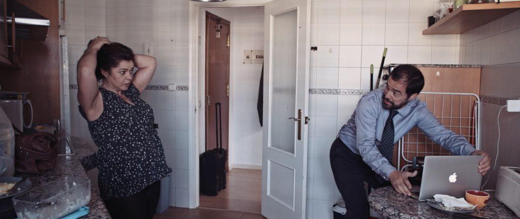 Una escena del corto Solo de trompeta