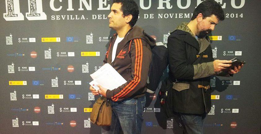 Sergio Ceballos y Mikel Gil, organizadores del Shortñy Week.