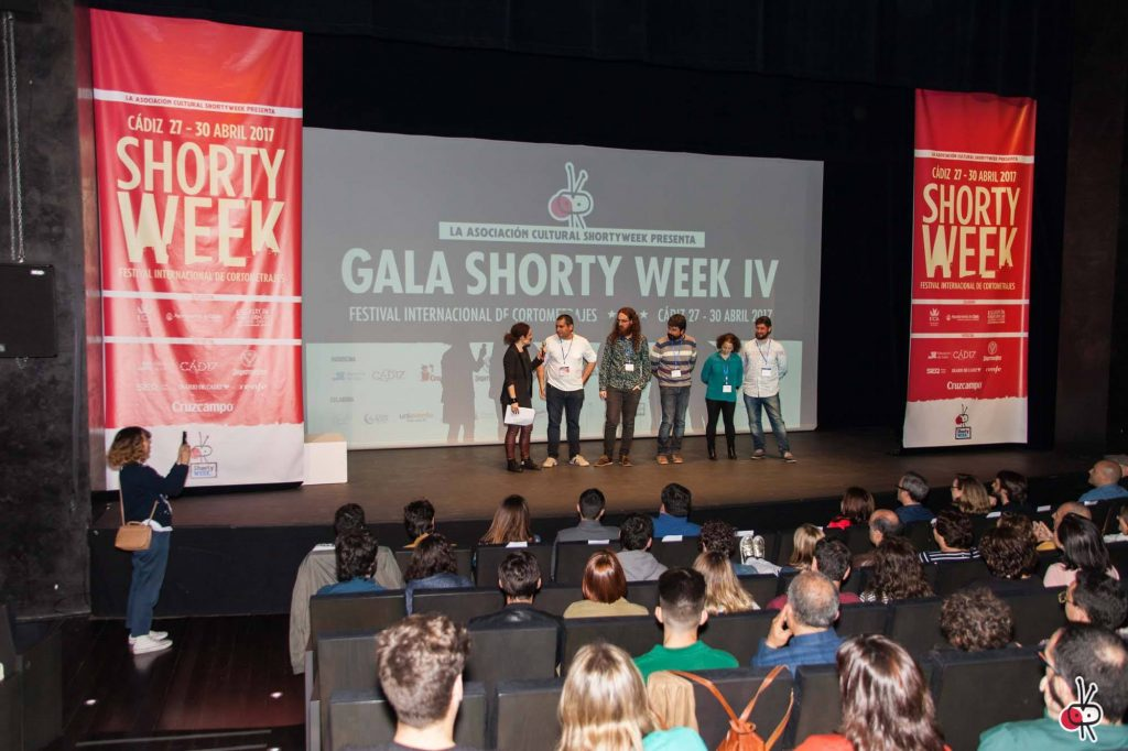 Gala de la IV edición del Shorty Week