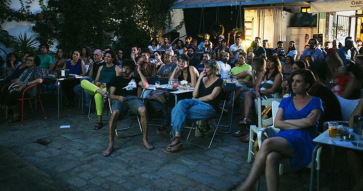 Público asistente a la XV edición de Cortos por Caracoles XV