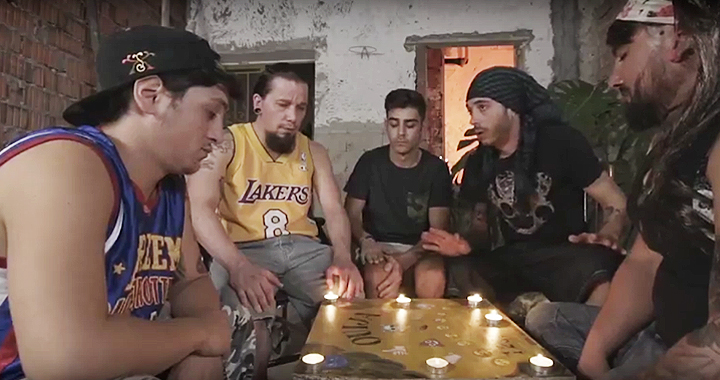 Escena del cortometraje Ouijaja