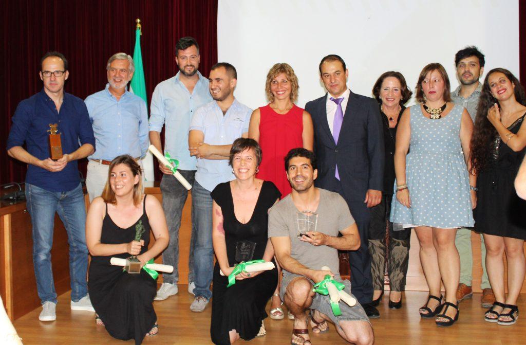 Participantes de la última edición del Festival de Cine Andaluz de Burguillos