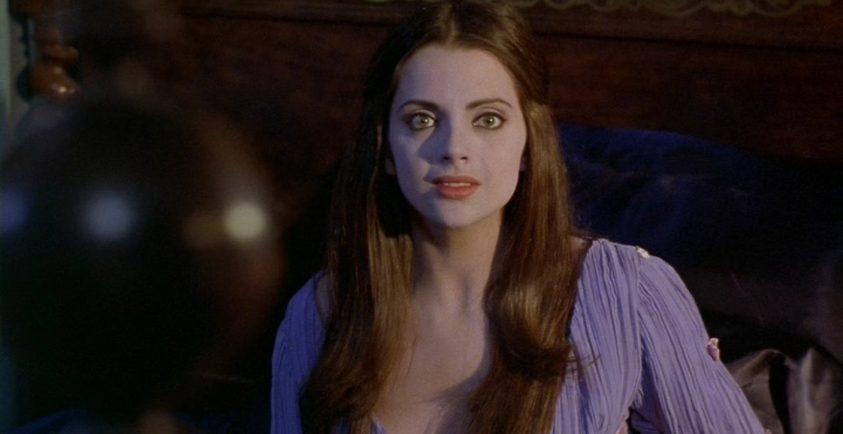 Macarena Gomez durante un rodaje
