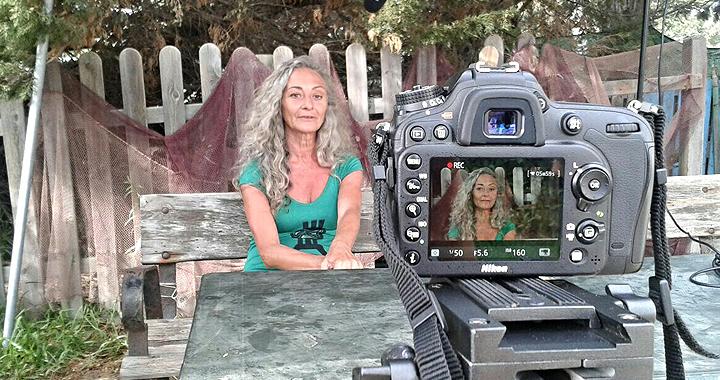 Pilar La Mónica de Ea! en 'Las víctimas sin llanto'