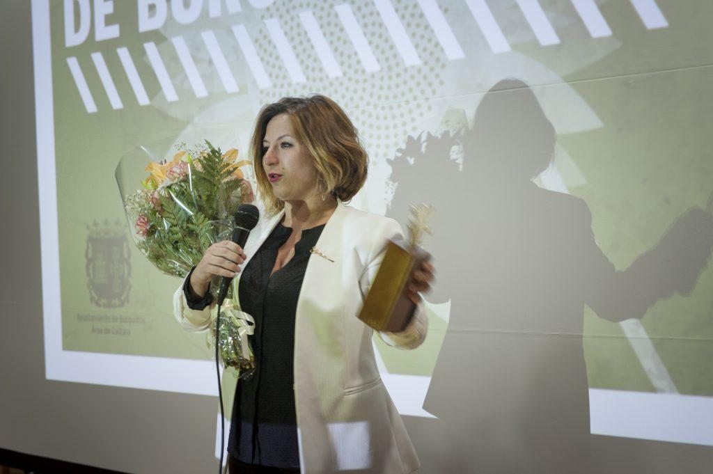 Premio ASFAAN a Yolanda Piña. Fotografía: Guille García