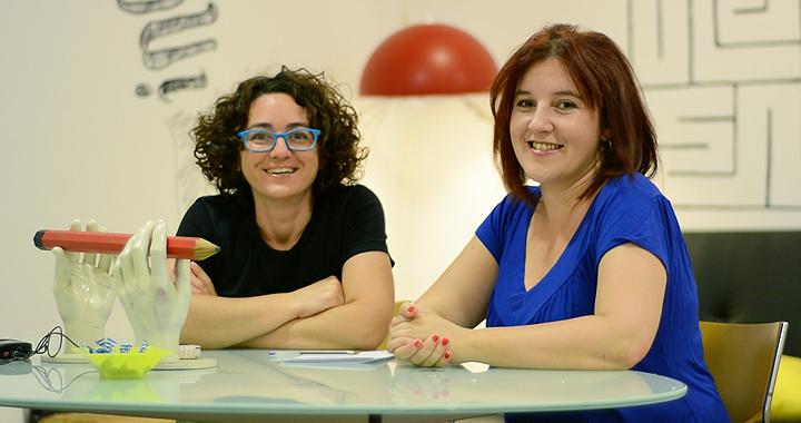 Sara Gallardo y Vanessa Perondi de Relatoras Producciones