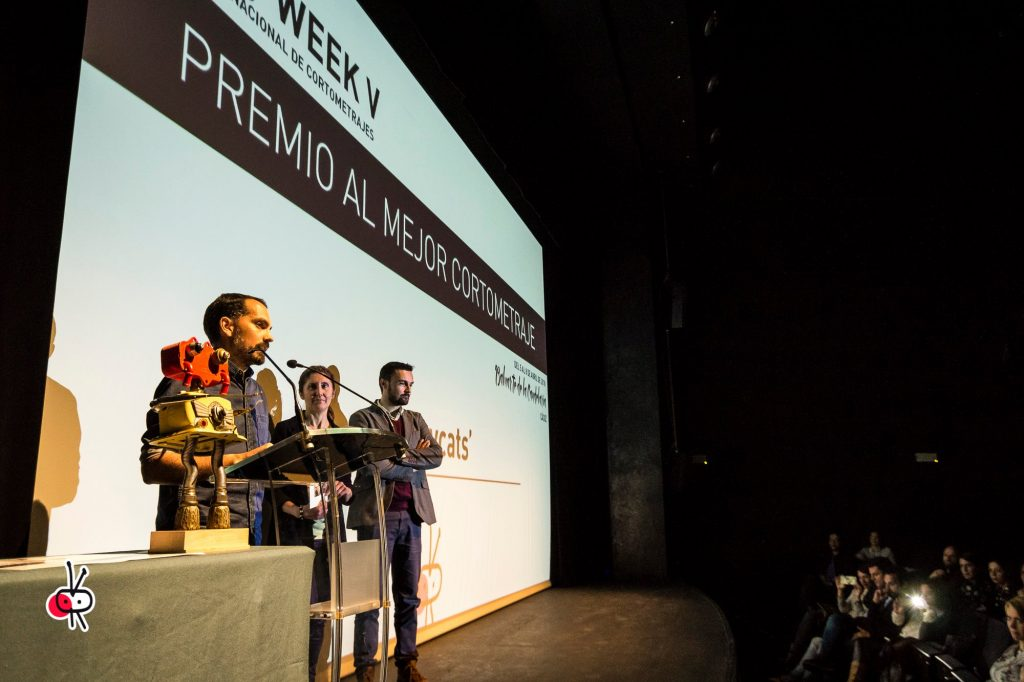 Alleycats gana el premio al mejor cortometraje en el Shorty Week