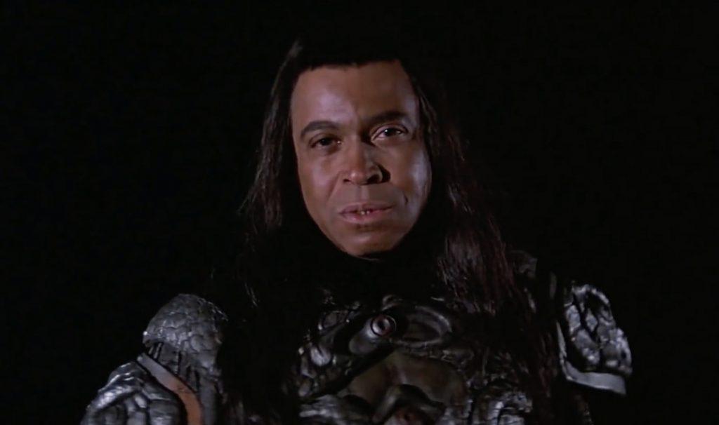 James Earl Jones, el malvado Thulsa Doom en Conan