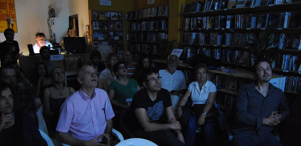 Una proyección de Arte 7 Cinemateca.