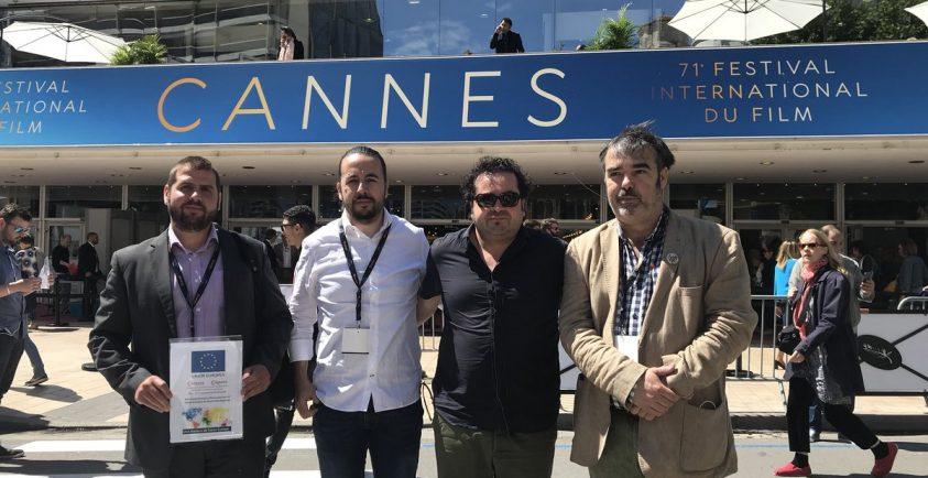 Los productores de Procinema en Cannes