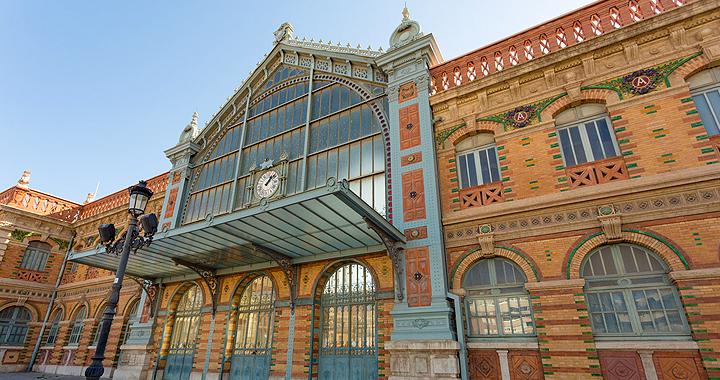 Estación Almería, localización de la serie Hanna autor Filming Almería
