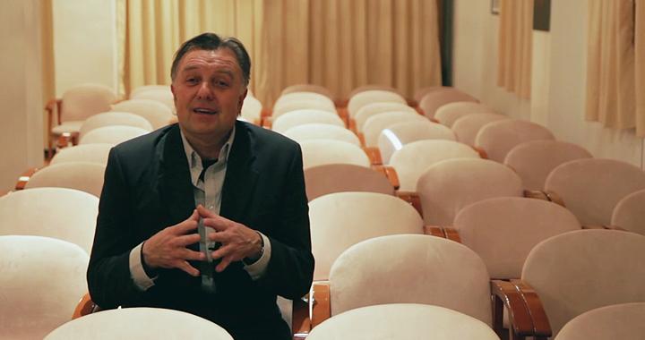 Manuel Polls Pelaz cordinador de Arte 7 Cinemateca.