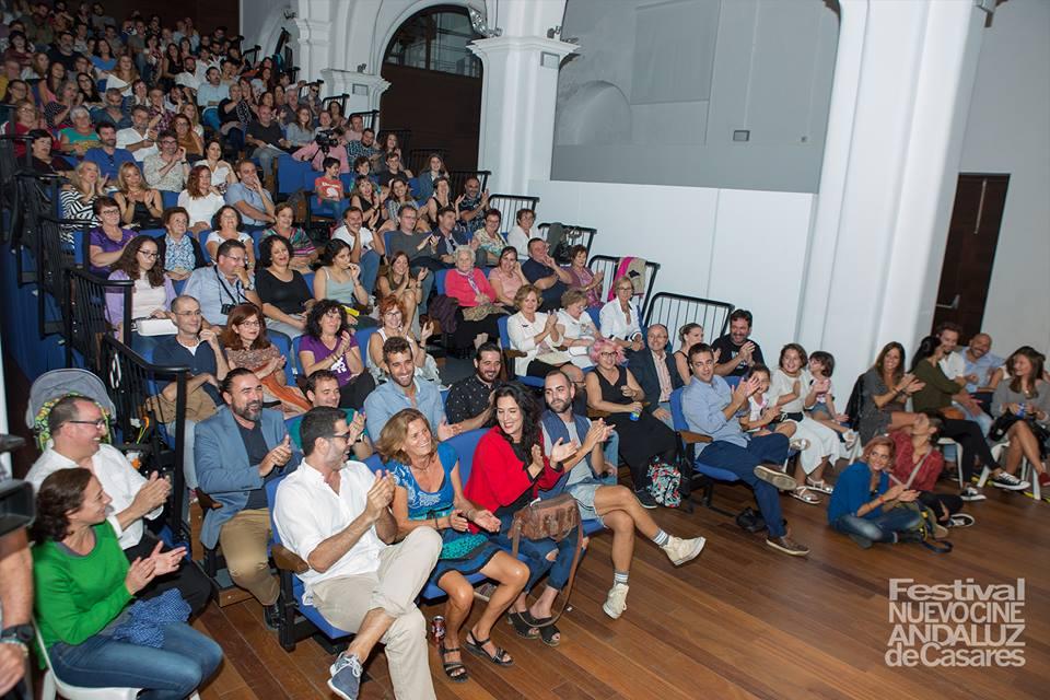 Público asistente de la última edición del Festival Nuevo Cine Andaluz de Casares