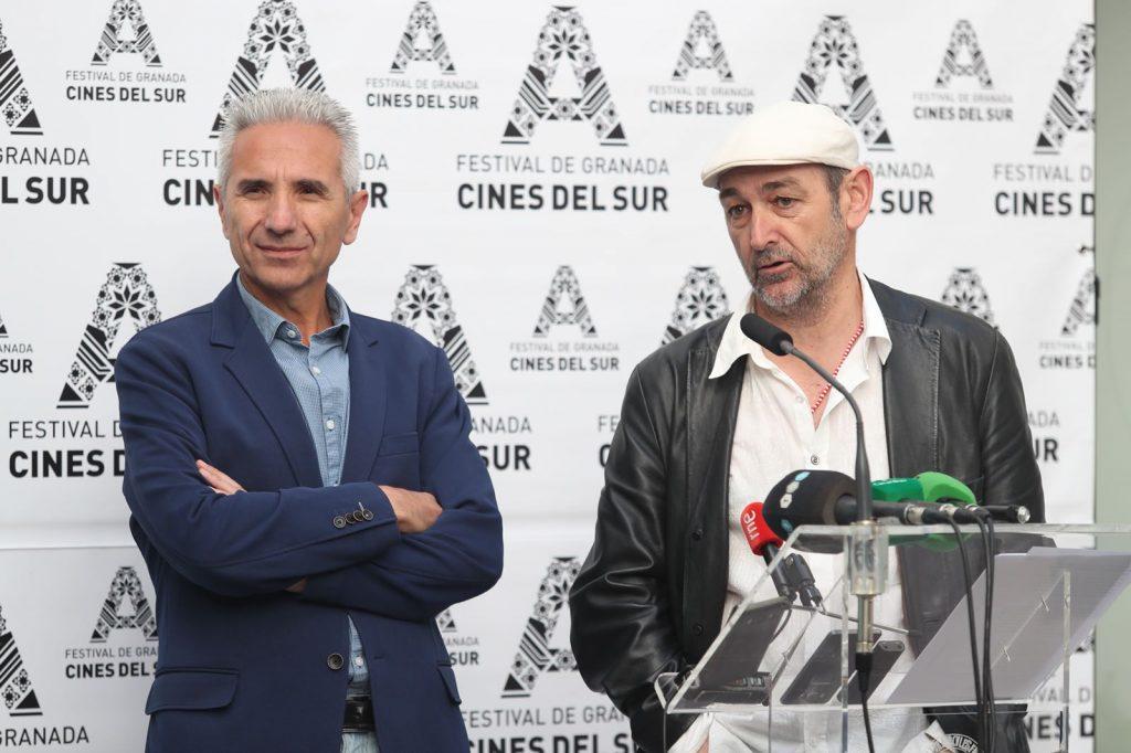 Cultura, Miguel Ángel Vázquezy el director del festival José Sánchez-Montes.