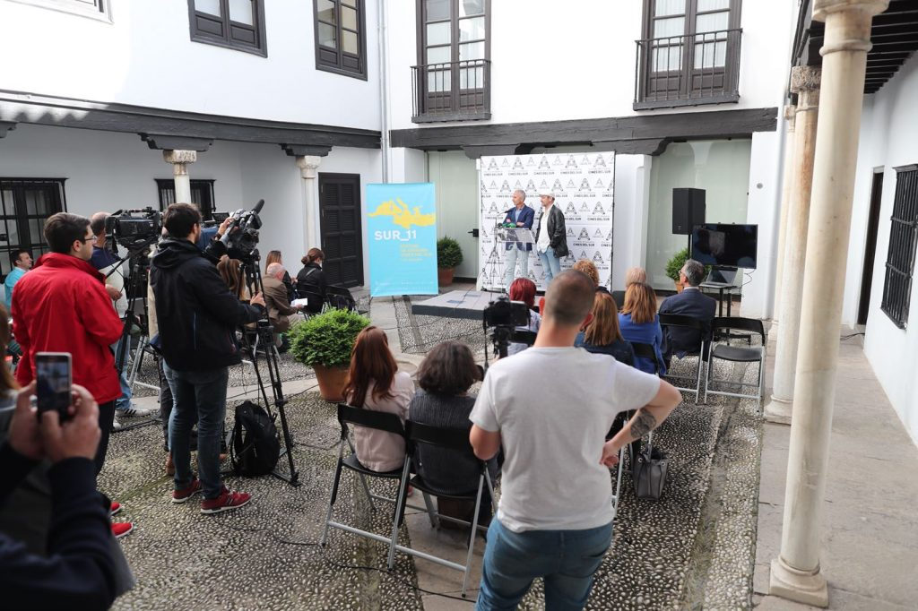 Presentación del Festival Cine Sur de Granada.