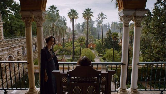 Reales Alcázares de Sevilla en 'Juego de Tronos'