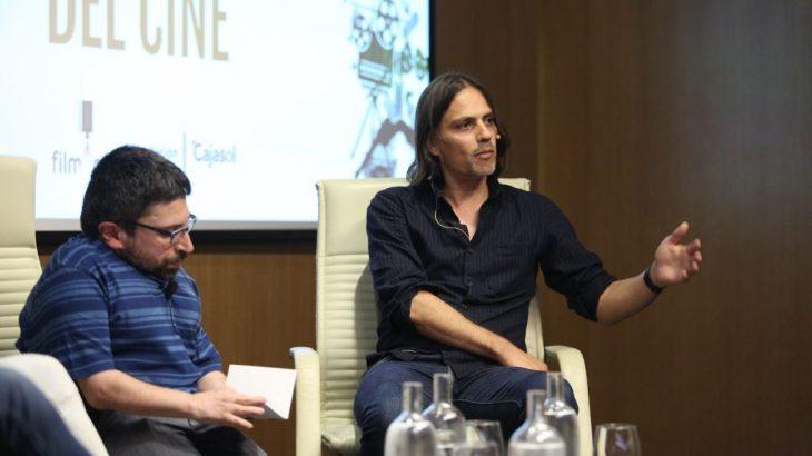 El guionista Rafael Cobos durante Los oficios del cine.