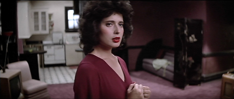 Isabella Rossellini en Blue Velvet de David Lynch.