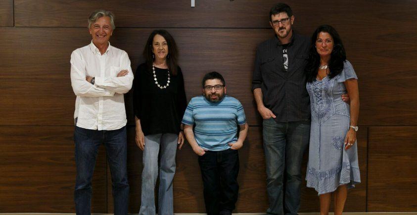 Jorge Marín, Coco Gollonet, Juan Antonio Bermúdez y Daniel de Zayas.