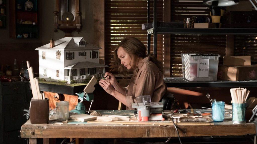La actriz Toni Collette en una escena de 'Hereditary'.
