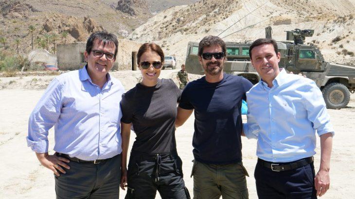 Comienza el rodaje de Los nuestros en Almería.