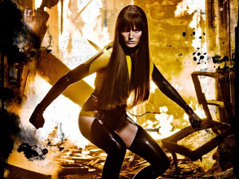 El personaje Espectro de Seda de la saga 'Watchmen'.