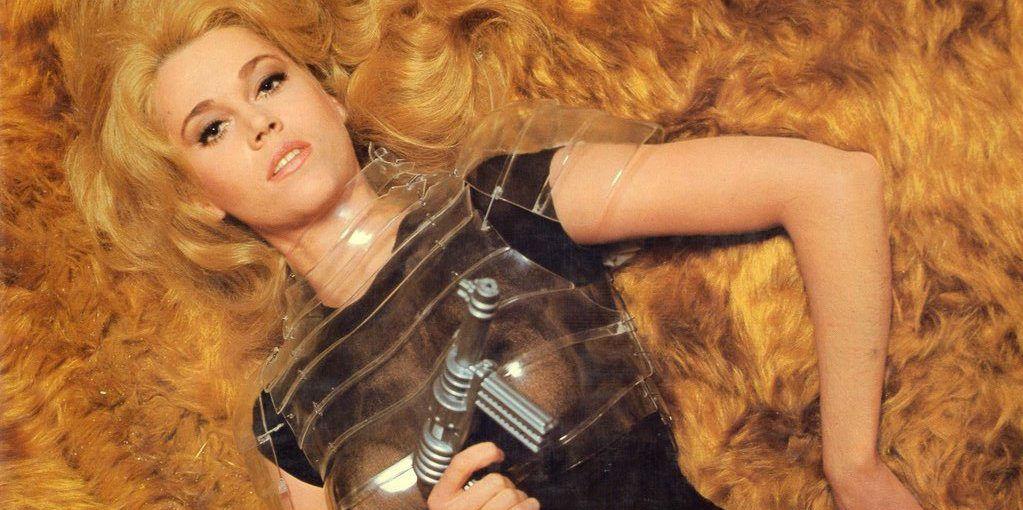 'Barbarella' (1968), film franco-italiano dirigido por Roger Vadim e interpretado por Jane Fonda.