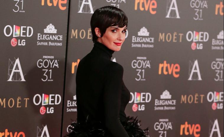 Paz Vega en los premios Goya
