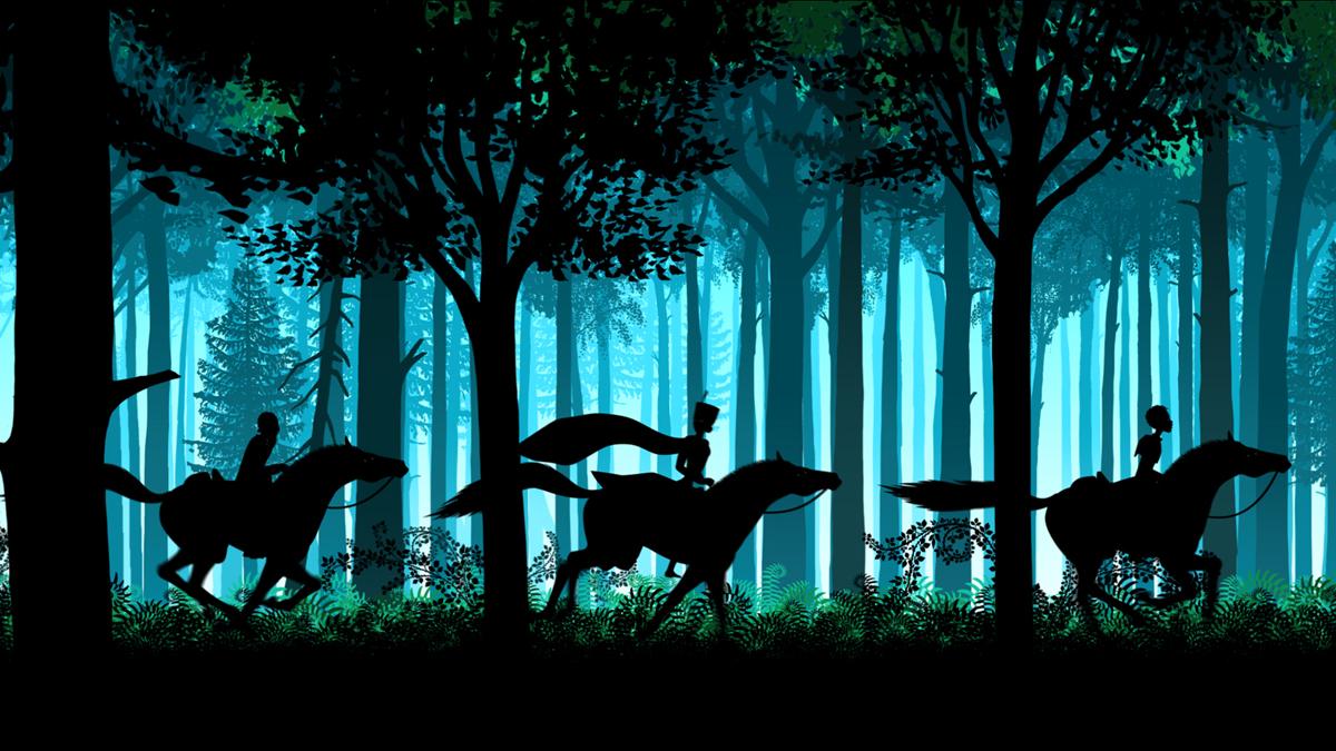 Fotograma de 'Los cuentos de la noche' (Michel Ocelot, 2011)