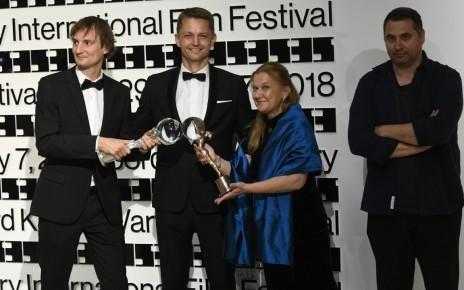 Olmo Omerzu, Jiri Konecny, Ada Solomon, Radu Jude en Karlovy Vary